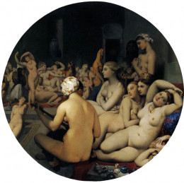 Ingres- The Turkish Bath