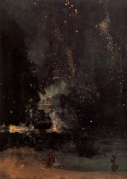 Whistler- Nocturne in Black and Gold, The Falling Rocket