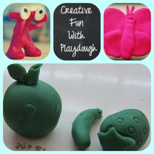 How to Be Creative With Playdough