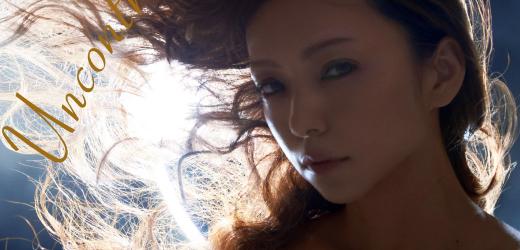 "Namie Amuro promoting her ninth studio album ""Uncontrolled""."