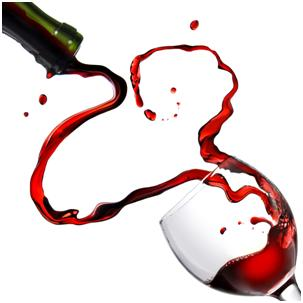 Here's to your health!  Red wine offers heart benefits and much, much more!