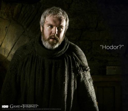 Hodor??
