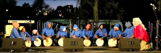 Drum Atweme is a drumming group of young people from town camps in Alice Springs.