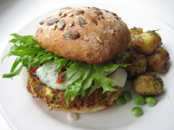 Healthy Tuna Burger