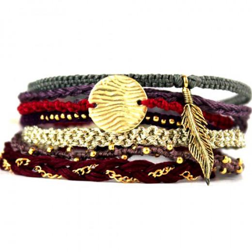 Bohemian Wanderer Friendship Bracelets
