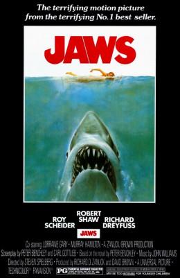 Jaws (1975) art by Roger Kastel