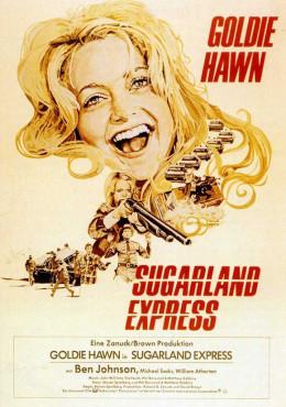 Sugarland Express (1974) German poster