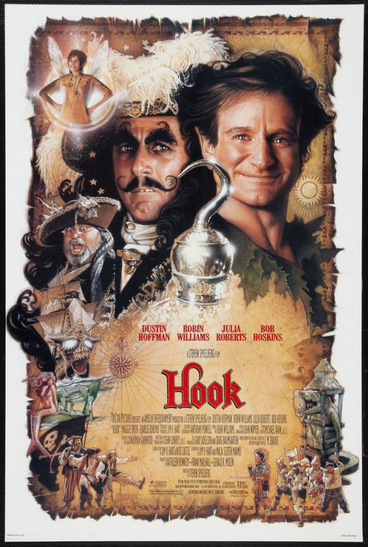 Hook (1991) art by Drew Struzan