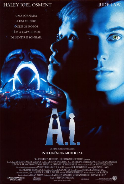 A.I. Artificial Intelligence (2001) Brazilian poster