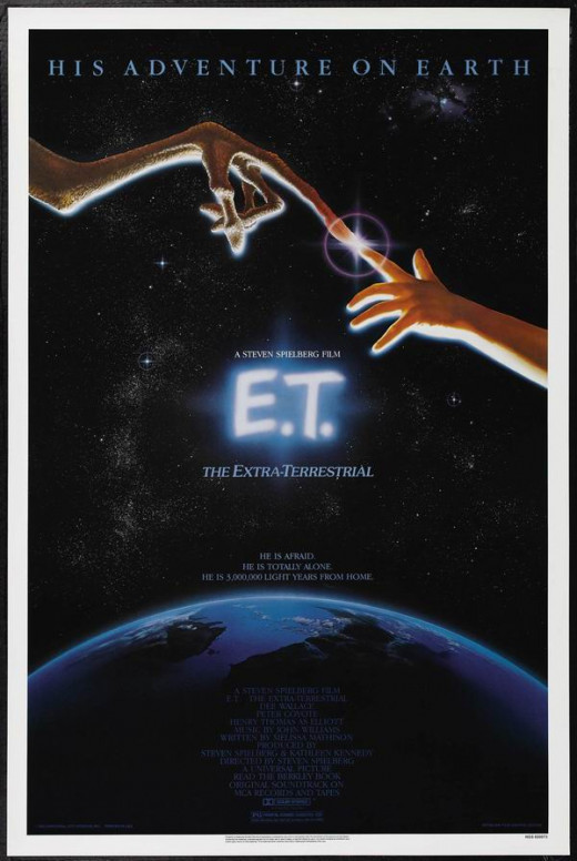 ET the Extraterrestrial (1982) art by John Alvin