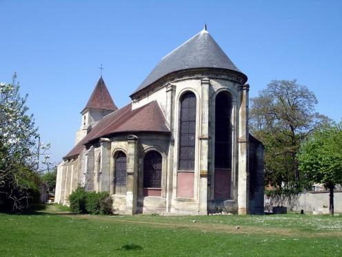 Aspe of Saint-Eloi church at Roissy-en-France (Val-d'Oise), France