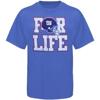 New York Giant Fan for Life T-shirt