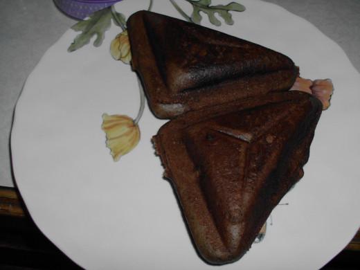 Chocolate Panini - The 5 Minute Chocolate Cake