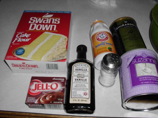Ingredients with Somersweet sugar substitute