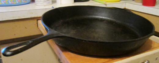 Cast Iron can be used on the Stove, In the oven or Over an Open Fire!