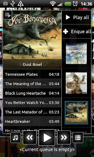 n7player is one of the best Android music player app available.