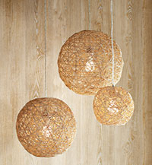 DIY Hemp Lamps, click for tutorial!