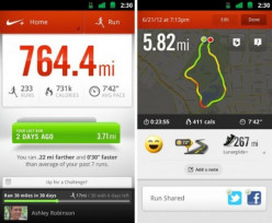 Nike+ Running App for Android