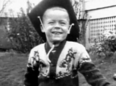 """Serial rapist and killer Theodore Robert """"Ted"""" Bundy as a child"""