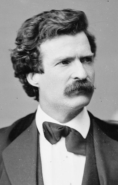Mark Twain was an American author and the world's first celebrity.