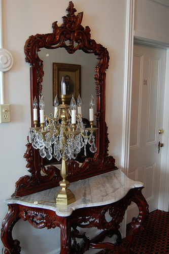 Victorian hall table (Creative Commons)