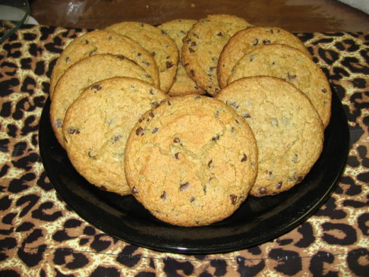 Co-owner Rhiannon Brown said gluten-free cookies are typically flat and have no taste or are dense and hard. Brown offers chocolate chip cheesecake cookies that are moist and creamy.
