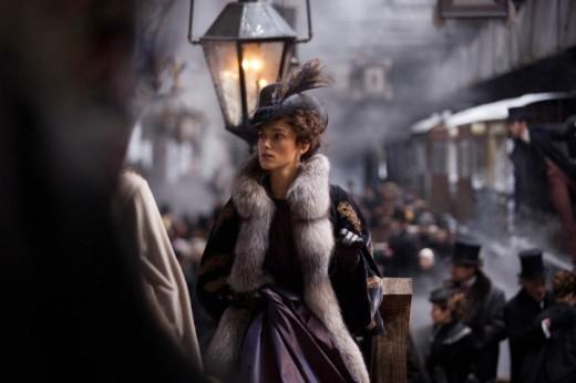 Keira Knightly as Anna Karenina