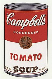 Pop Art, invented and inspired by Andy Warhol