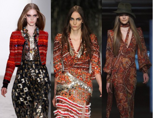 Bohemian continues to be a top trend into Fall 2012.
