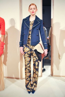 Rulers, short and tall can wear this J Crew ensemble.