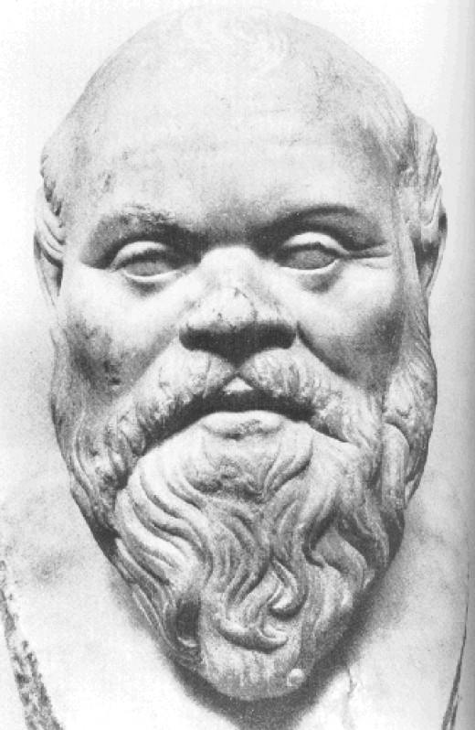 Socrates, or by his original Greek name, Aristocles