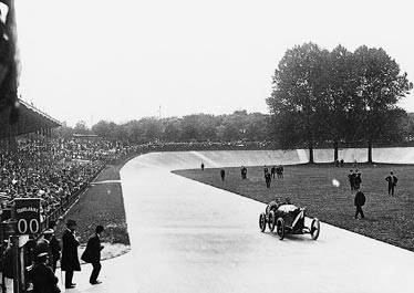 Georges Boillot winning the 1912 French Grand Prix in Dieppe, France