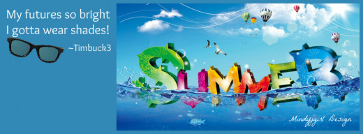 Facebook summer cover photo