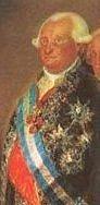 Charles or Carlos IV of Spain.