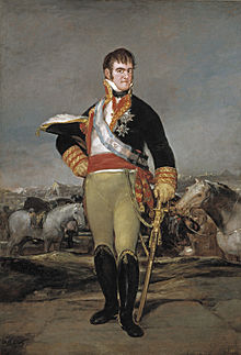 Charles' Son, Ferdinand who would take overrule of Spain after his father's abdication.