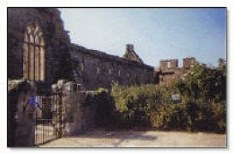 Lislaughlin Abbey, Ballylongford, inspiration for Professor Brendan Kennelly.