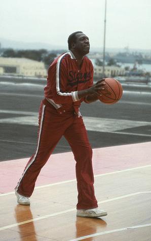 Meadowlark Lemon, famous basketball player for the Harlem Globetrotters