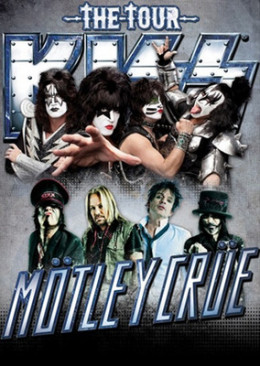 Promotional Poster for the Summer 2012  KISS/Motley Crue tour