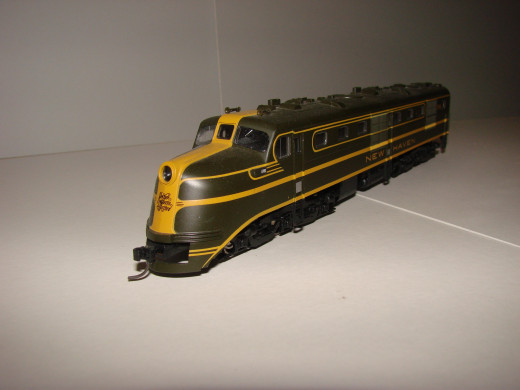 True scale dimensions and accurate detail are the marks of a model train
