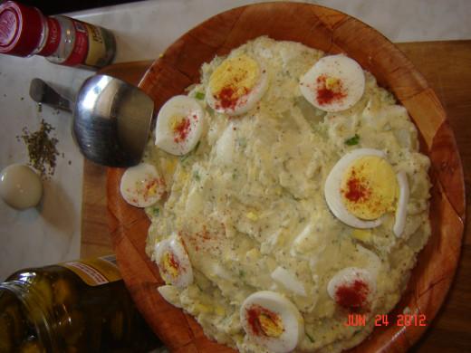 Creamy Potato Salad, by the Author