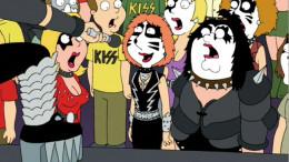 "Coming soon: KISS/""Family Guy"" merch!"