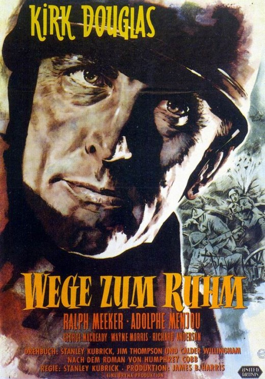 Paths of Glory (1957) German poster
