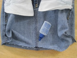 Use a product designed to stop fraying at each seam end.  Be sure to dot it on all seam ends, including the manufactured ones.