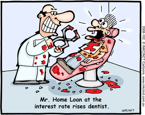Mr. Home loan at the interest rate rises dentist's clinic