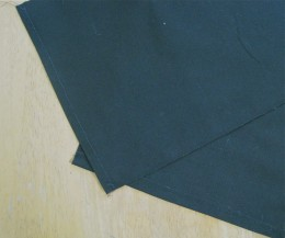 a. Cut large and small pockets to the desired size.