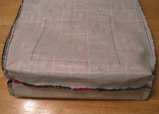 Create the lining after sewing the pockets on it.