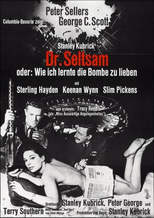 Dr. Strangelove (1964) German poster