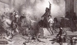 The riots that began primarily in Madrid set about the start of the Peninsular War where Spain and Portugal would both fight for their independence in the face of Napoleonic oppression.