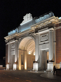 Menin Gate Memorial and Last Post Ceremony, Ypres