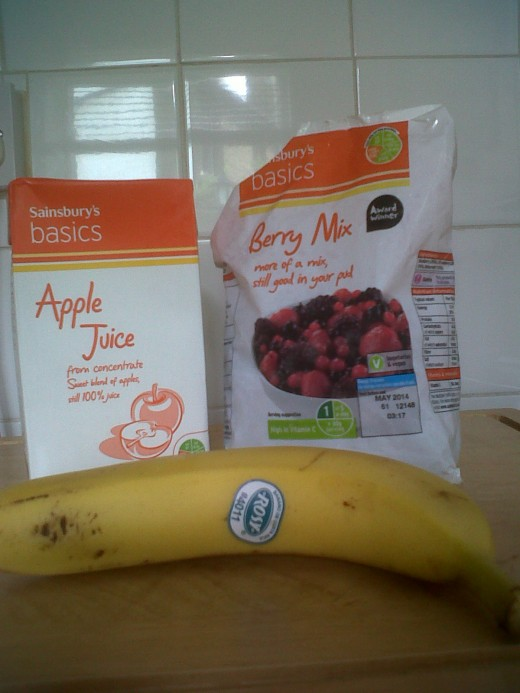 Cheap and healthy smoothie ingredients